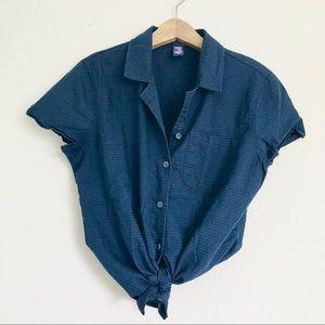 Vintage Check Gingham Top